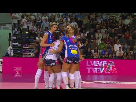 Pallavolo A1 femminile - Pesaro-Novara 0-3: highlights