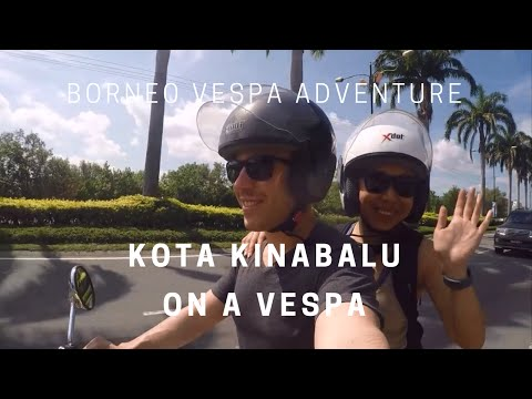 TOURING KOTA KINABALU ON A VESPA | Two Go Abroad x MALAYSIA
