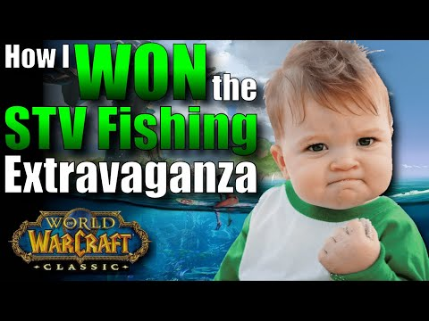 WoW Classic: My Secret To Winning The Stranglethorn Fishing Extravaganza!