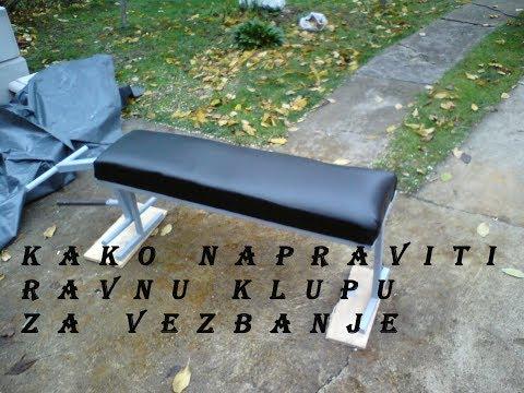 How to make flat bench for exercising?? - Kako napraviti ravnu klupu za vezbanje??