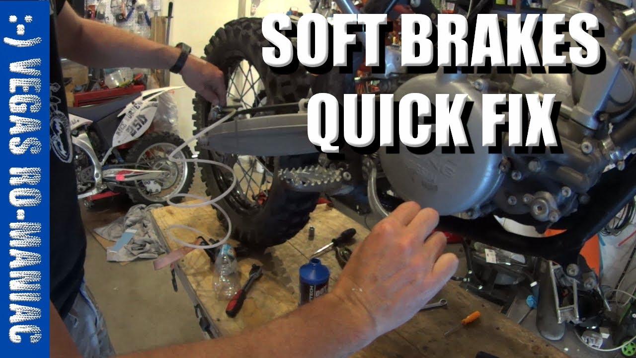 Soft Brake Pedal Fix and Bleeding Brakes