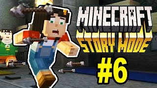 Let's Play Minecraft: Story Mode #6: IT'S A TRAP