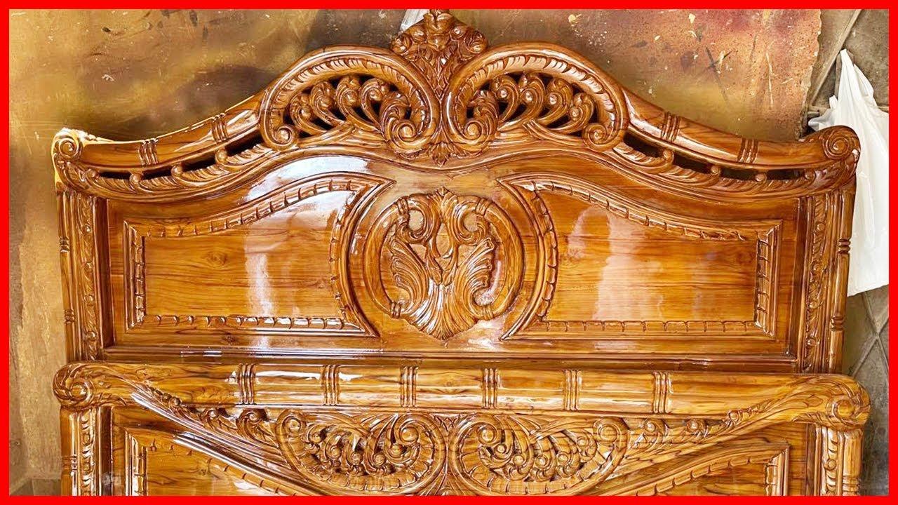চমৎকার একটি খাট এর দাম জানুন-মনের মতো  একটি খাট  Beautiful Wooden Bed Interior Design Ideas