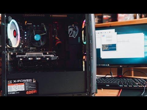 PC chơi PUGB giá rẻ | Timelapse Build PC | HTTCOMPUTER