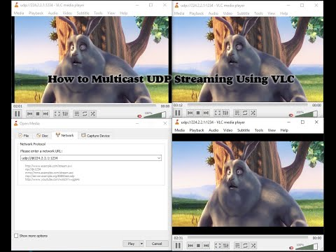 How To Multicast UDP Streaming Using VLC