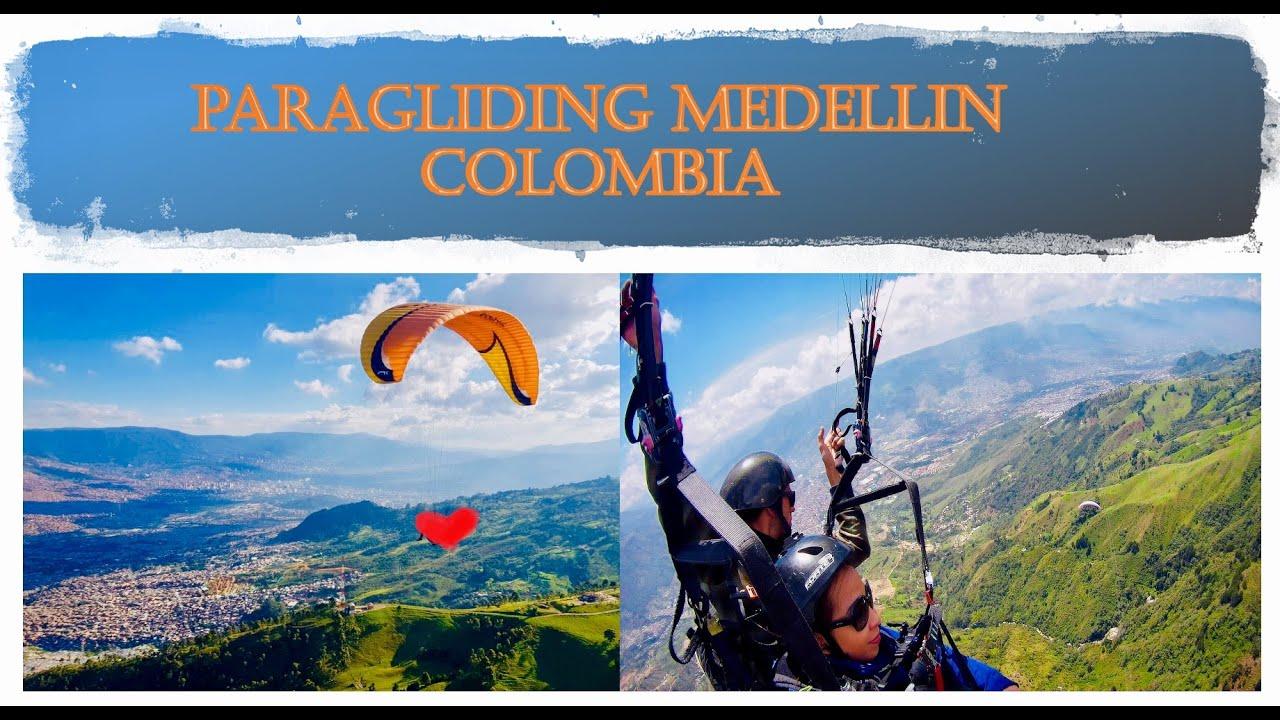 PARAGLIDING @ Medellin Colombia