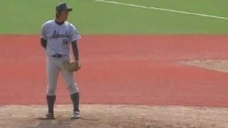2011年4月3日 愛知大学リーグ 愛知工業大vs愛知学院大 ※走者がいます.