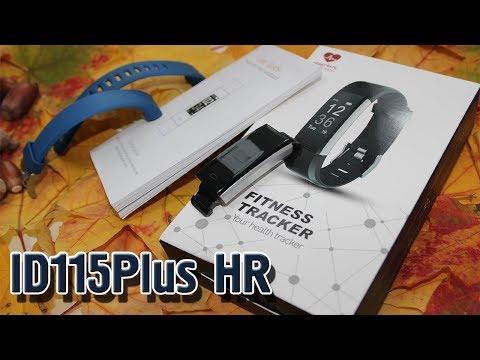 ID115Plus HR. Подробный обзор недорогого фитнес трекера.