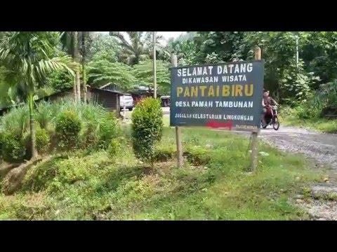 Objek Wisata Pantai Biru, Tambunan Langkat Sumatera Utara