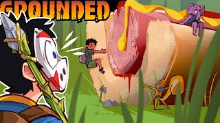 WE FOUND GIANT HOT DOGS! - Grounded Ep. 4!