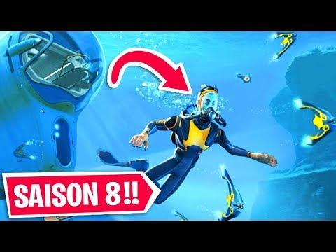 VOICI LA SAISON 8 de FORTNITE EN AVANT PREMIÈRE !!
