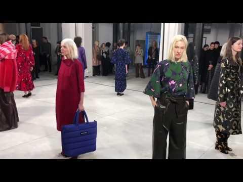 Marimekko  AW18 @ Paris Fashion Week