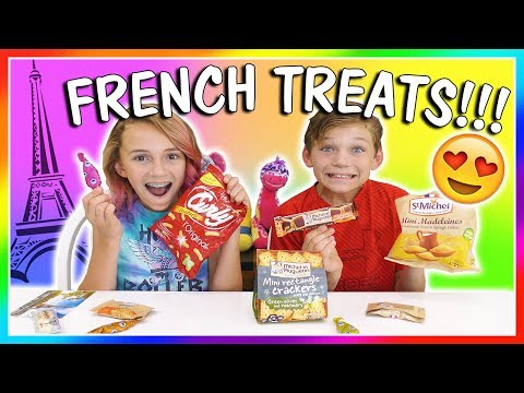 Download Youtube: 😋FRENCH TREATS TASTE TEST😆 | We Are The Davises