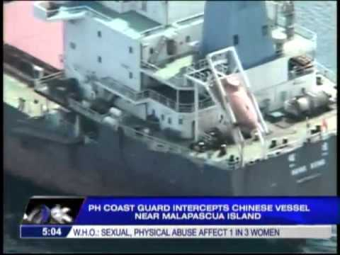 Chinese ship intercepted in Cebu