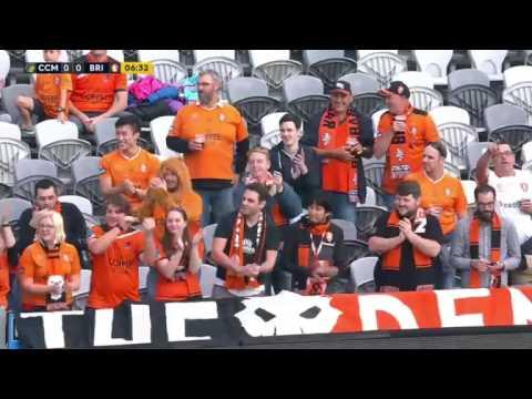 Australia A-League - Central Coast Mariners vs Brisbane Roar 22 October 2016 FULL Match