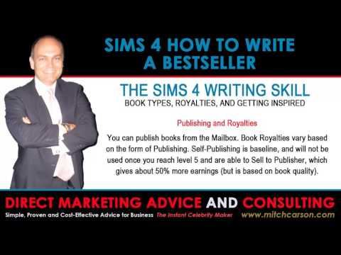 Sims 4 How to Write a Bestseller