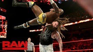 Apollo Crews vs. Bray Wyatt: Raw, Jan. 1, 2018