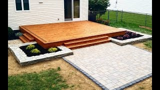 Building a Modern Deck and Patio