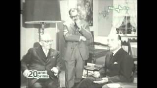 G. FELTRINELLI,  V. BOMPIANI e A. MONDADORI ospiti di M.  SOLDATI - Fuori Orario di Rai 3