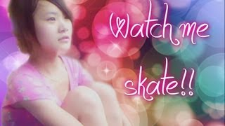 Me (Wenwen Han) skate in Xian