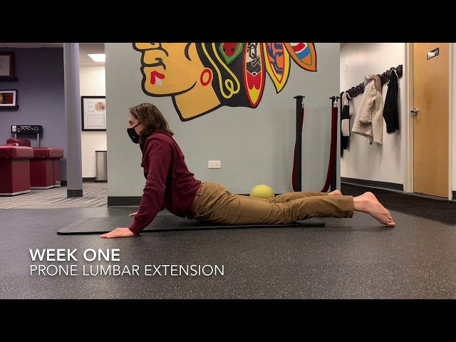 Prone Lumbar Extension (Eccentric Focus)