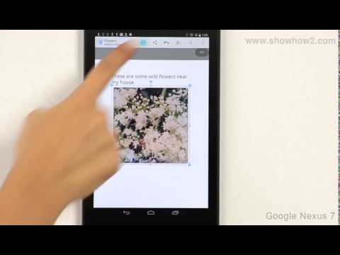 Google Nexus 7 - Save Quick Office Document To Google Drive Or Downloads Folder