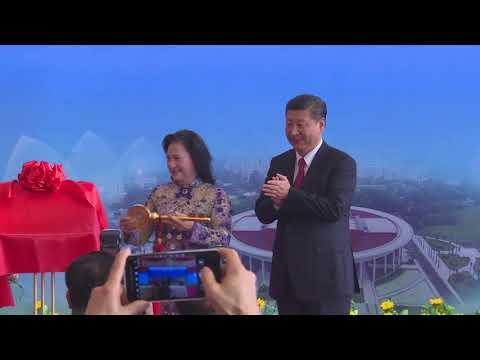 President Xi Jinping attends Vietnam-China Friendship Palace inauguration ceremony