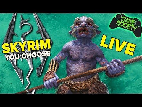 Skyrim - You Choose What We Do (E13) - Game Society