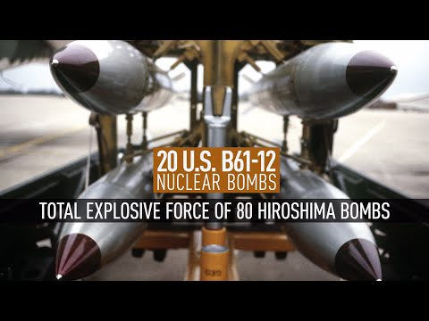 US sends 20 nukes to Germany despite Bundestag decision