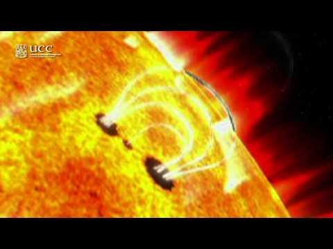 Solar Flares En Route to Earth - Dr Paul Callanan