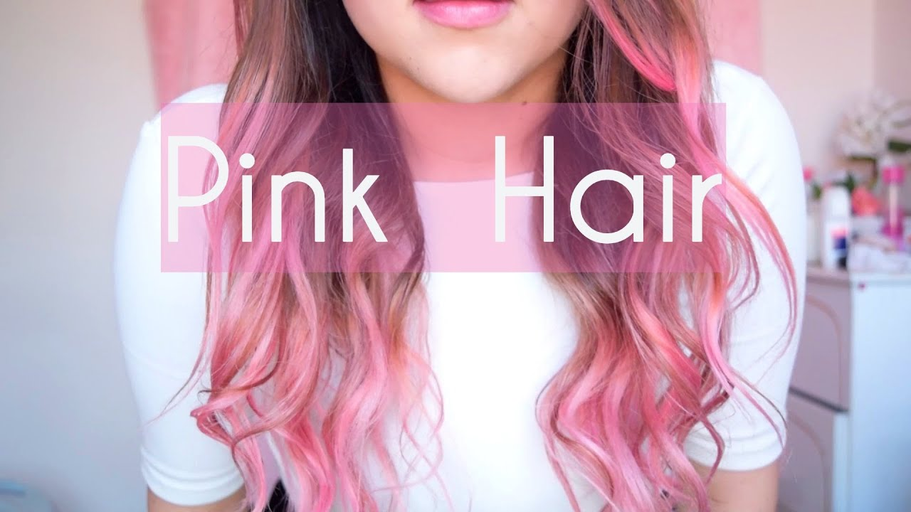 How to Pink hair / Pink balayage / Fancy hair