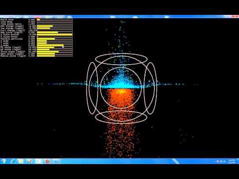 15cm polywell 0.82 tesla phase space.wmv