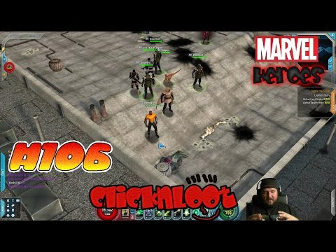 Marvel Heroes 2016 Gameplay German #106 Times Square Ultron hauen