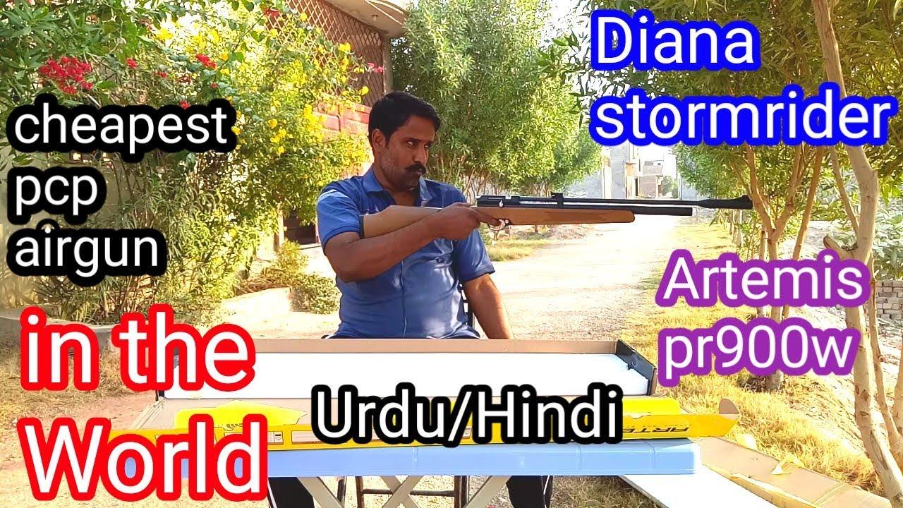 Diana stormrider/Artemis pr900w  22 pcp airgun unboxing in Urdu/Hindi by 4  Hunters