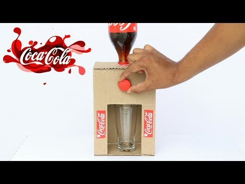 Thumbnail: How to Make Coca Cola Fountain Machine From Cardboard at Home