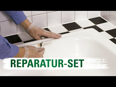 keramik emaille und acryl reparatur set jaeger youtube. Black Bedroom Furniture Sets. Home Design Ideas
