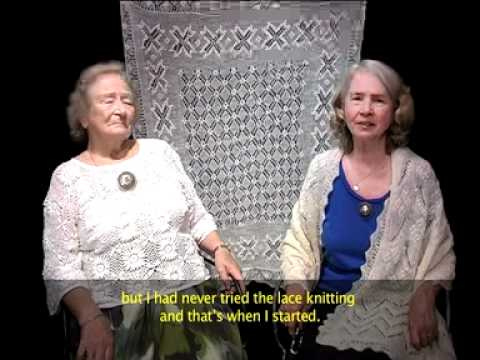 Estonian Lace Knitting The Real Thing With Beautiful Silks Youtube