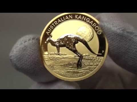 2015 Australian Kangaroo gold bullion coins released by The Perth Mint