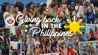 PCCF DELIVERS OVER A MILLION PESOS TO CHARITIES IN THE PHILIPPINES