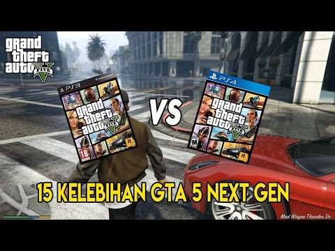 PERBEDAAN GTA 5 PS3 DAN PS4   15 FITUR GTA 5 YANG HANYA ADA DI KONSOL NEXT GEN (PS4,XBOX ONE) & PC