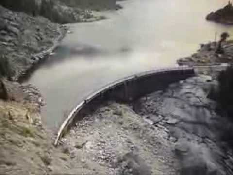 Mystic Lake Dam, Custer National Forest, Montana