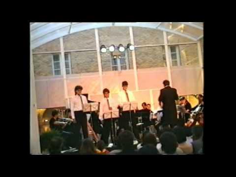 Alumnos de txistu, Escuela de Música Joaquin Maya       II Andante   tranquilo del Concierto en re menor de Luis Aramburu para Txistu y orquesta  Año 199