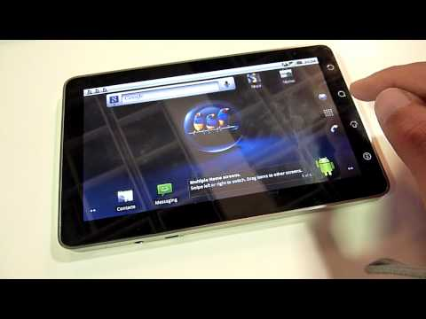 ViewSonic Viewpad 7 Tablet Hands On - English
