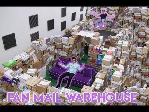HUGE FAN MAIL WAREHOUSE (Opening Fan Mail)
