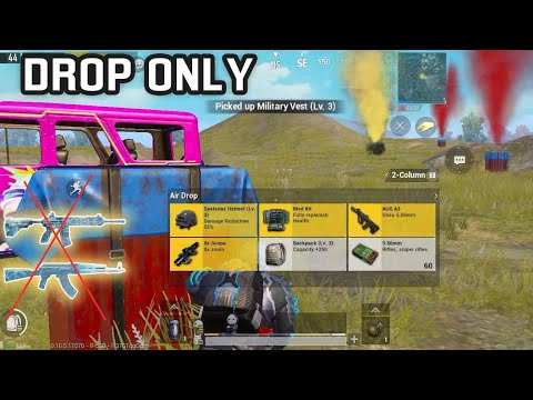 Drop weapons ONLY