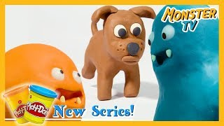 Puppy Play Doh Speed Build | Play Doh Animation 😈 Play Doh Cartoon Stop Motion