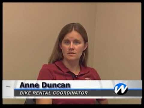 WTV News: New Bike Rentals from Vogel Library
