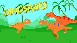 Juegos de Dinosaurios para Niños - Excavación Jurasica-Peques Juegan a Ayudar a los Dinosaurios thumbnail