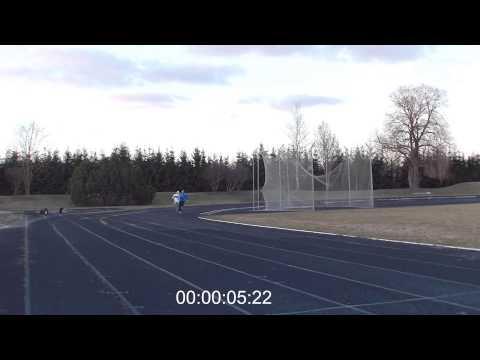 [Training] 5x150m last run timed