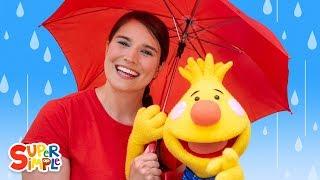Rain Rain Go Away | Songs For Kids | Sing Along With Tobee